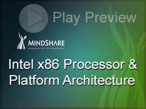 MindShare - Intel x86 Processor and Platform Architecture eLearning